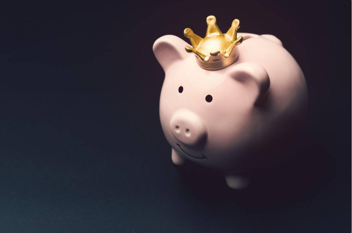 Piggy Bank - Saving budgeting concept